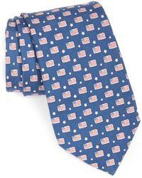 Vineyard Vines - Flag Print Tie - Lyst