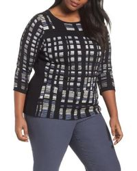 NIC+ZOE - Crystal Cove Sweater - Lyst