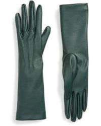 Stella McCartney - Faux Leather Gloves - Lyst