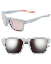 Nike   Fleet 55mm Sport Sunglasses   Lyst