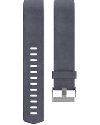 Fitbit - Charge 2 Leather Accessory Band - Lyst