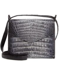 Nancy Gonzalez - Genuine Crocodile Crossbody Bag - - Lyst