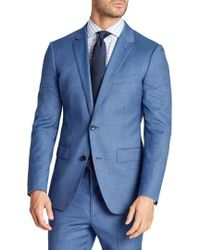 Bonobos | Jetsetter Trim Fit Stretch Solid Wool Suit Jacket | Lyst