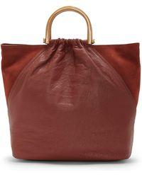 Vince Camuto - Vida Leather Tote - Lyst