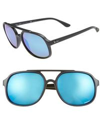 2f95e41434 Lyst - Carrera 64mm Navigator Sunglasses in Blue for Men