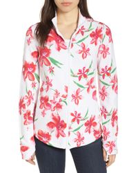 Tommy Bahama - Floral Fade Stretch Cotton Zip Jacket - Lyst