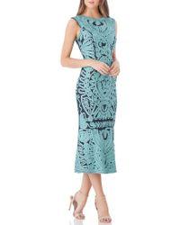 JS Collections - Soutache Mesh Dress - Lyst
