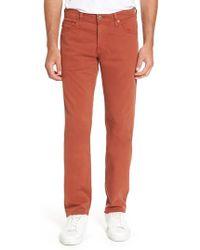 AG Jeans - Graduate Sud Slim Straight Leg Pants - Lyst