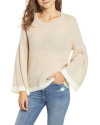 BISHOP AND YOUNG - Bishop + Young Bell Sleeve Sweater - Lyst