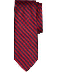 Brooks Brothers - Thin Stripe Silk Tie - Lyst