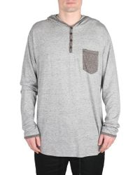 Imperial Motion   Franco Hooded Henley   Lyst