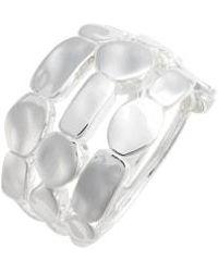 Ippolita - Senso Triple Row Sterling Silver Ring - Lyst