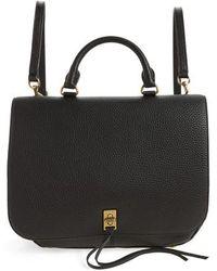Rebecca Minkoff | Darren Convertible Leather Backpack | Lyst