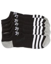 Adidas Originals | Original Roller 3-pack No-show Socks, Black | Lyst