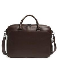 Vince Camuto - Turin Leather Briefcase - - Lyst