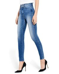 Ayr - The Riser High Waist Skinny Jeans - Lyst
