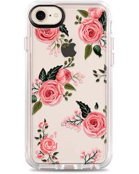 Casetify - Pink Floral Grip Iphone 7/8 & 7/8 Plus Case - - Lyst