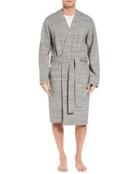 Ugg | Ugg Kent Cotton Blend Robe | Lyst