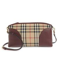 Burberry - 'small Chichester - Horseferry Check' Shoulder Bag - - Lyst