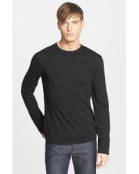 James Perse - Long Sleeve Crewneck T-shirt - Lyst
