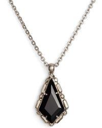 Sorrelli - Kite Crystal Pendant Necklace - Lyst