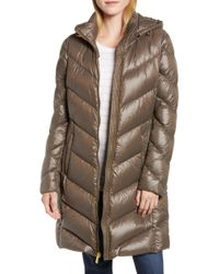 MICHAEL Michael Kors - Packable Quilted Down Jacket, Brown - Lyst