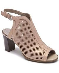 Rockport | Total Motion Luxe Perforated Sandal | Lyst