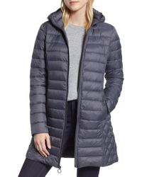 MICHAEL Michael Kors - Packable Down Puffer Jacket, Grey - Lyst