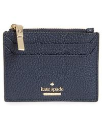 Kate Spade - Oakwood Street - Lalena Leather Card Case - - Lyst