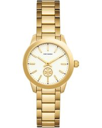 Tory Burch - Tbw1200 The Collins Gold Tone Women's Watch - Lyst