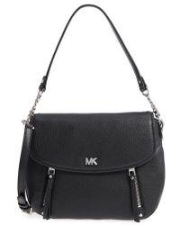 MICHAEL Michael Kors - Medium Leather Shoulder Bag - - Lyst