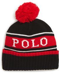 dd818e06 Lyst - Polo Ralph Lauren Polo Sport Men's Baseline Hat in Orange for Men