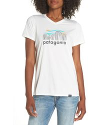 Patagonia - Capilene Daily Graphic Tee - Lyst