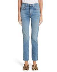 Proenza Schouler - Pswl Straight Let Jeans - Lyst