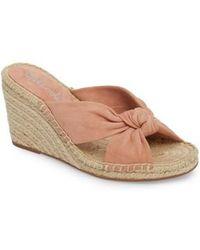 Splendid | Bautista Knotted Wedge Sandal | Lyst