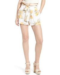 For Love & Lemons - Lemonade Skort - Lyst