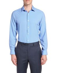 W.r.k. - Trim Fit Stretch Dress Shirt - Lyst