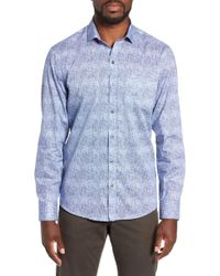 Zachary Prell - Oppong Regular Fit Sport Shirt - Lyst
