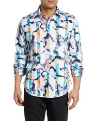 Robert Graham - Calazans Classic Fit Print Sport Shirt - Lyst