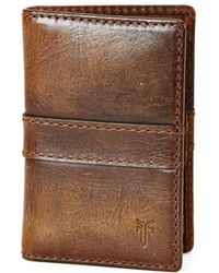 Frye | 'oliver' Leather Wallet | Lyst