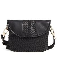 Robert Zur | Nola Woven Leather Crossbody | Lyst