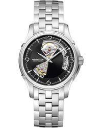 Hamilton - Jazzmaster Open Heart Automatic Bracelet Watch - Lyst