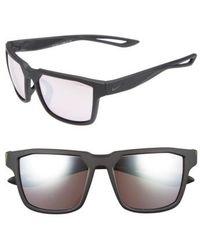 Nike | Fleet 55mm Sport Sunglasses | Lyst