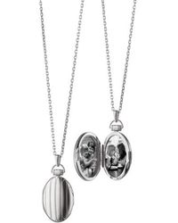 Monica Rich Kosann - Locket Necklace - Lyst