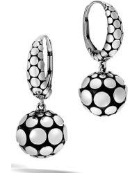 John Hardy - Dot Drop Earrings - Lyst