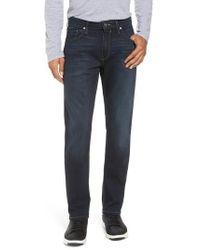 PAIGE | Transcend - Federal Slim Straight Leg Jeans | Lyst