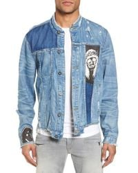 Hudson | Blaine Crop Denim Jacket | Lyst