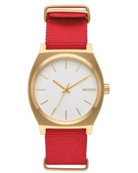 Nixon | The Time Teller Nato Strap Watch | Lyst