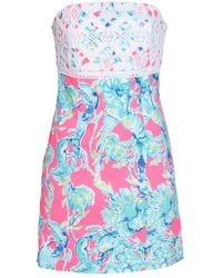 Lilly Pulitzer - Lilly Pulitzer Brynn Strapless Dress - Lyst