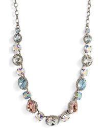 Sorrelli - Embellished Elegance Crystal Necklace - Lyst